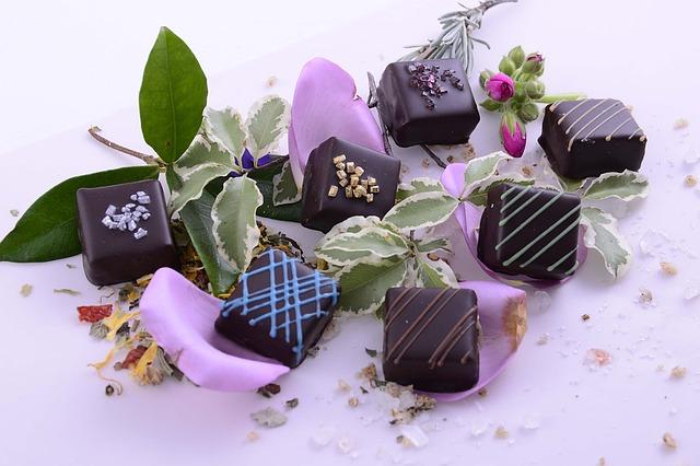 Les chocolats de luxe Castelanne