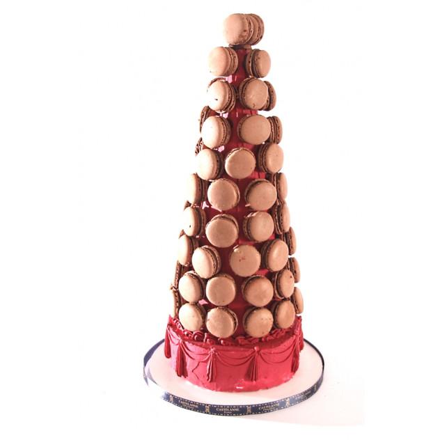 Pièce Montée aux Macarons 100 pièces