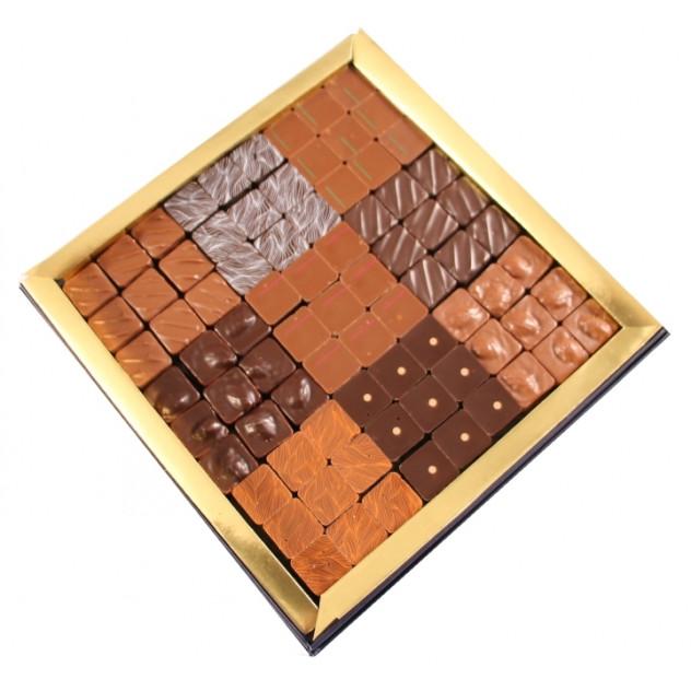 Coffret carré Praliné 54