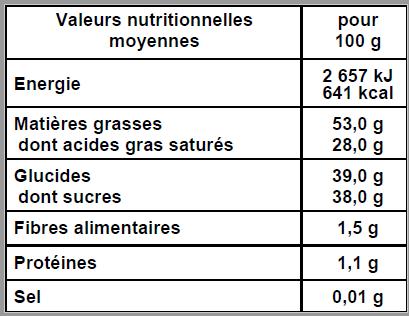 Tablette lait végétal